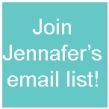 Email list signup copy